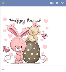 Easter Rabbit Emoticon