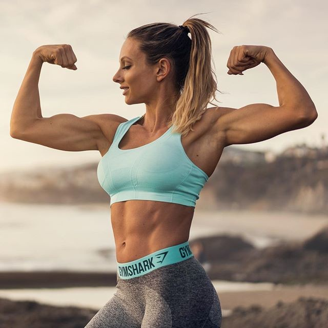 Fitness Model Paige Hathaway Instagram photos