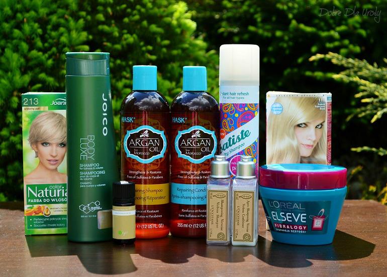 Denko - zużycia kosmetyczne - styczeń, luty,marzec - pielęgnacja i farbowanie włosów