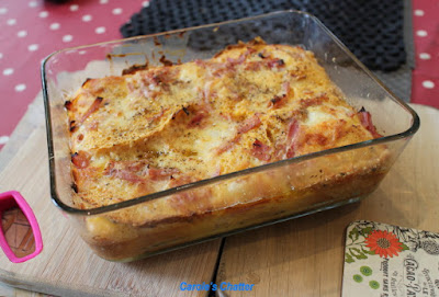 Carole's Chatter: Savoury Bread Frittata