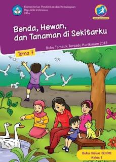 Buku Kurikulum 2013 SD Kelas 1 Tema 7 Buku Siswa Revisi 2014