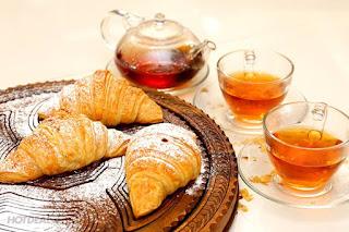 Công thức làm bánh sừng bò nhân trứng muối sự kết hợp ẩm thực Á Âu 1