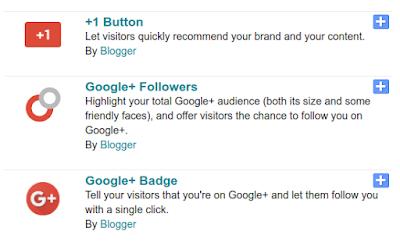 Приспособления на Google+