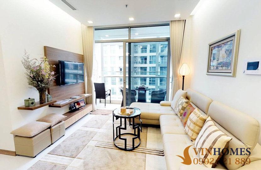 Cho thuê căn hộ 2PN Vinhomes Bình Thạnh - Park 1 - hinh 2