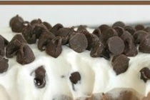Chocolate Chip Cookie Layered Pudding Dessert