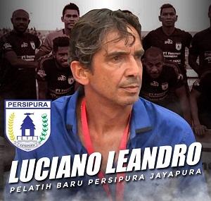 Luciano Leandro, Pelatih Baru Persipura Jayapura 2019