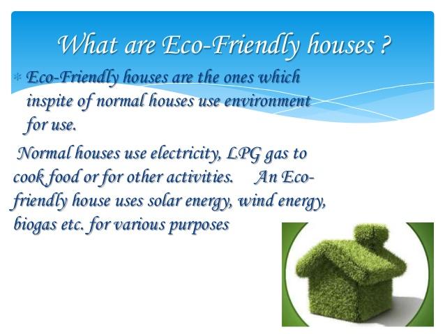 Ciri-ciri rumah ramah lingkungan