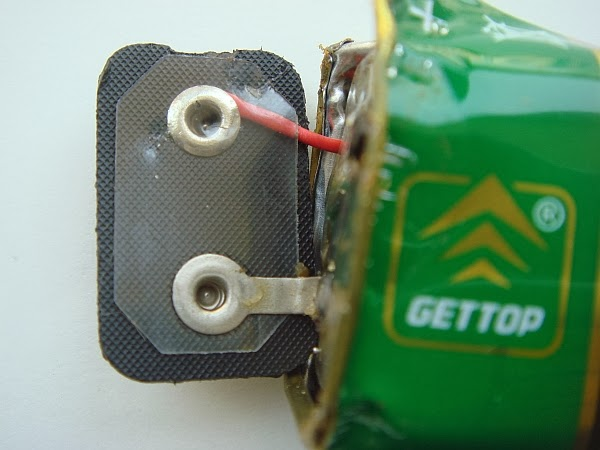 BugWorkShop - 甲蟲工作室: 冠達 Gettop 9V 乾電池拆解