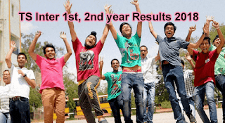 TS Inter Results 2018