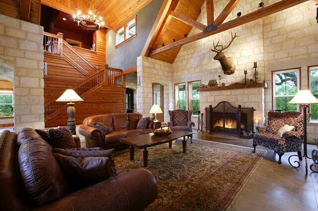Country ev dekorasyonu örnekleri 2