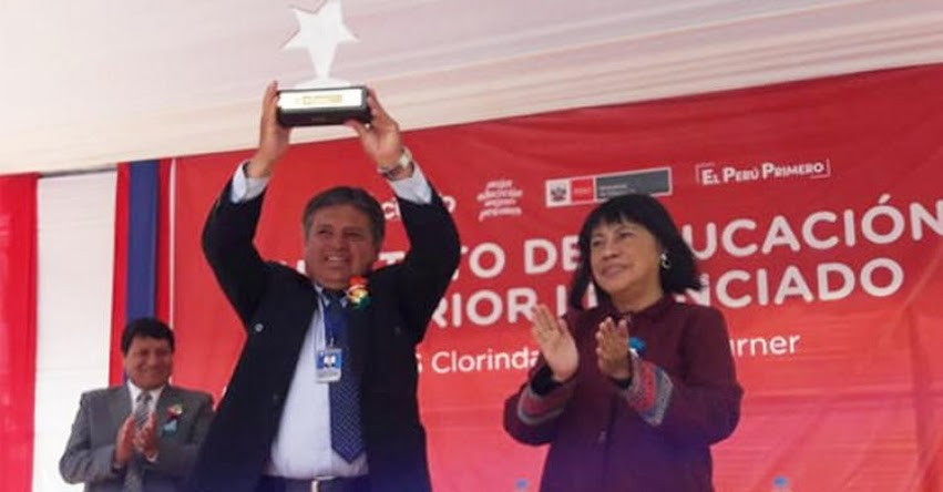 MINEDU otorga licenciamiento institucional a IESTP Clorinda Matto de Turner del Cusco (R. M. N° 614-2019-MINEDU) www.minedu.gob.pe
