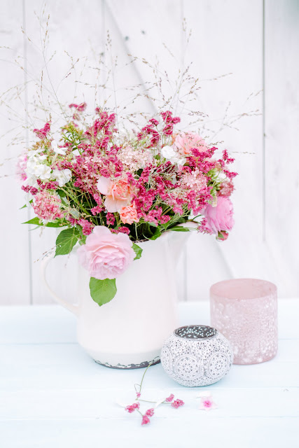 Gartenblumenstrauß, Friday Flowerday, Pomponetti