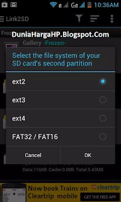 Cara Atasi Android Low Internal Memory Link2SD