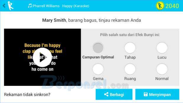 Aplikasi Karaoke Terbaik Untuk Android dan Teropuler dan Gratis