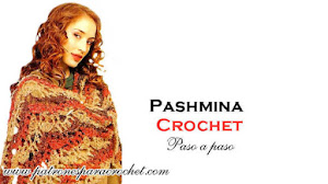 Pashmina para Tejer al Crochet / Paso a paso