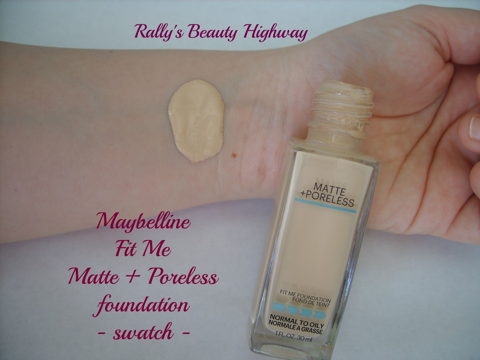 beauty, review, Maybelline, foundation