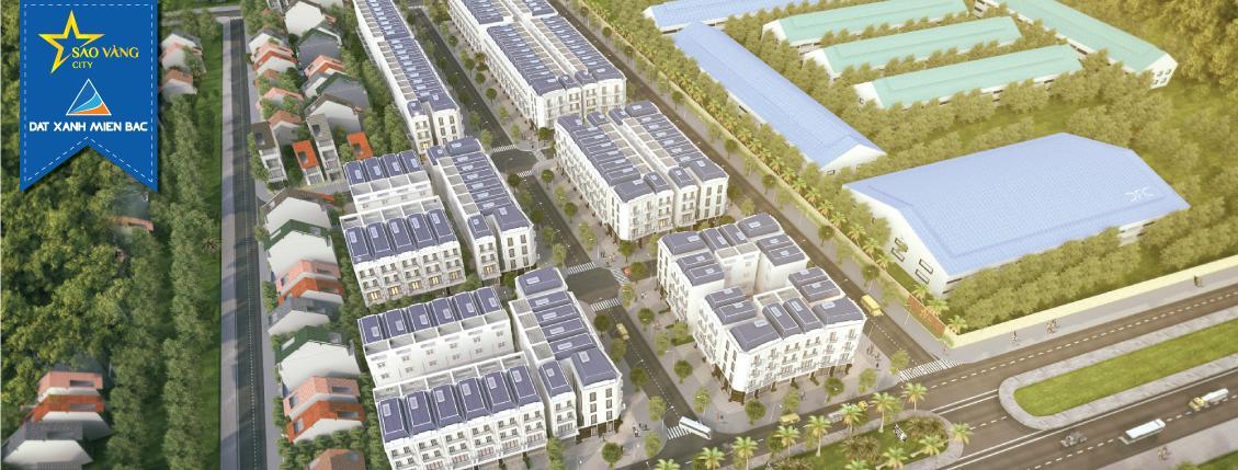 Phối cảnh dự án Sao Vàng City