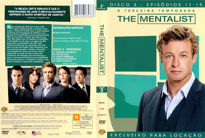 The Mentalist 1ª, 2ª, 3ª, 4ª e 5ª Completas Torrent - Legendado