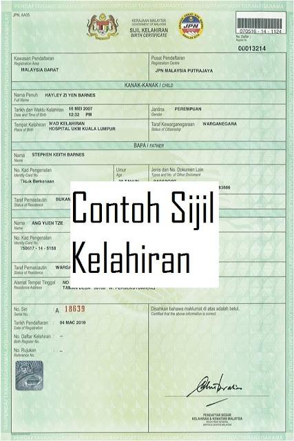 Hasil carian imej untuk sijil kelahiran