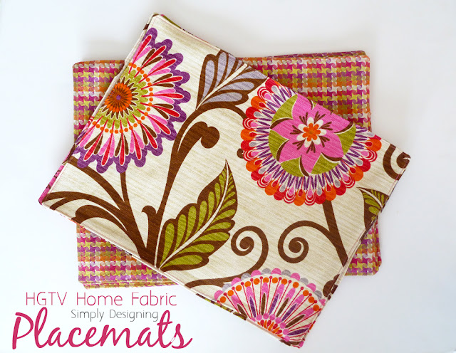 placemats 04a HGTV Home Decor Fabric Placemats 19