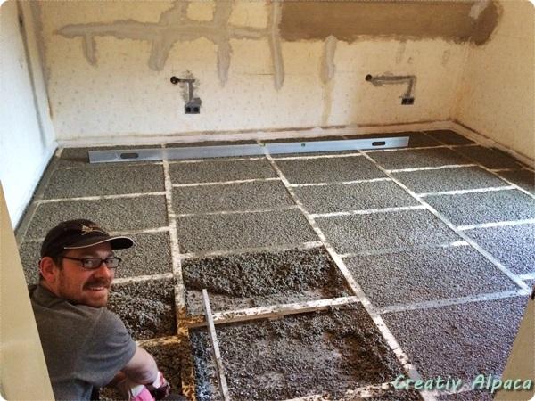 Baustelle Trockenestrich