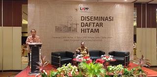Sekda Provinsi Jambi Menghadiri Sosialisasi Diseminasi Daftar Hitam LKPP RI