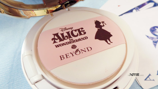 Sponsored Review BEYOND Alice in Blooming Snow Cushion Korean Beauty Cosmetic