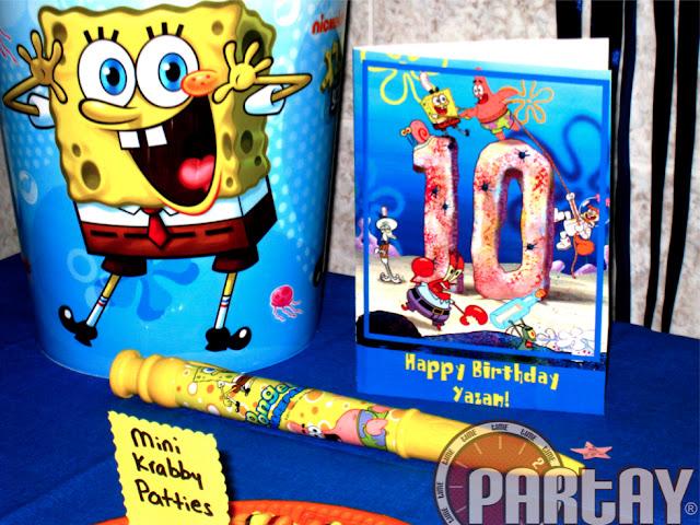 Spongebob Themed Party | Time2Partay com