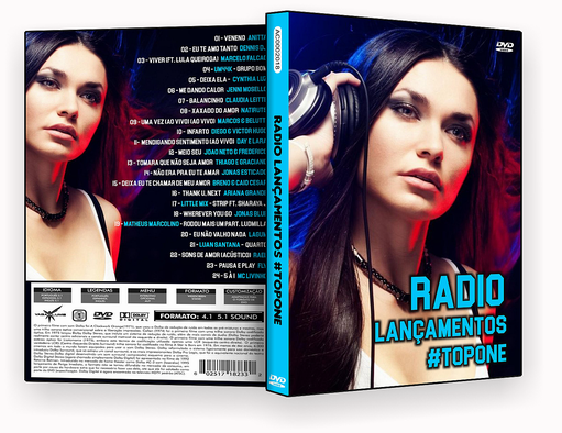 CAPA DVD – Radio Lançamentos Top Fone – ISO
