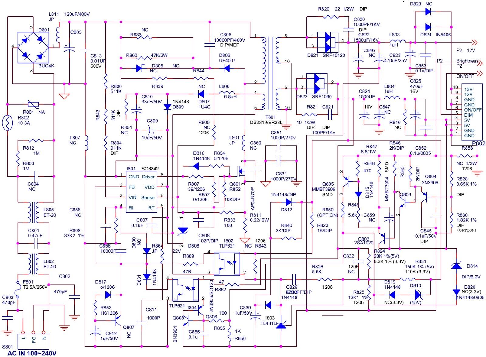 viewsonic n2011 20 inch lcd tv circuit diagram. Black Bedroom Furniture Sets. Home Design Ideas