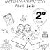 MATERIAL DIDÁCTICO (Abril-Junio) 2° PRIMARIA CICLO ESCOLAR 2018-201.