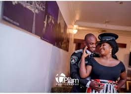 Police Officer Shares Pre-wedding Pics With Beautiful Fiancee