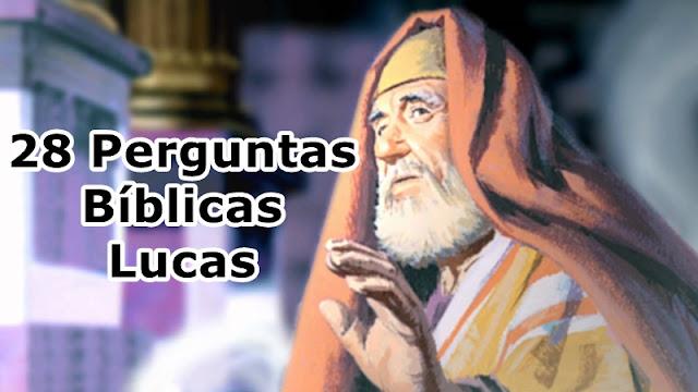 perguntas biblicas evangelho Lucas