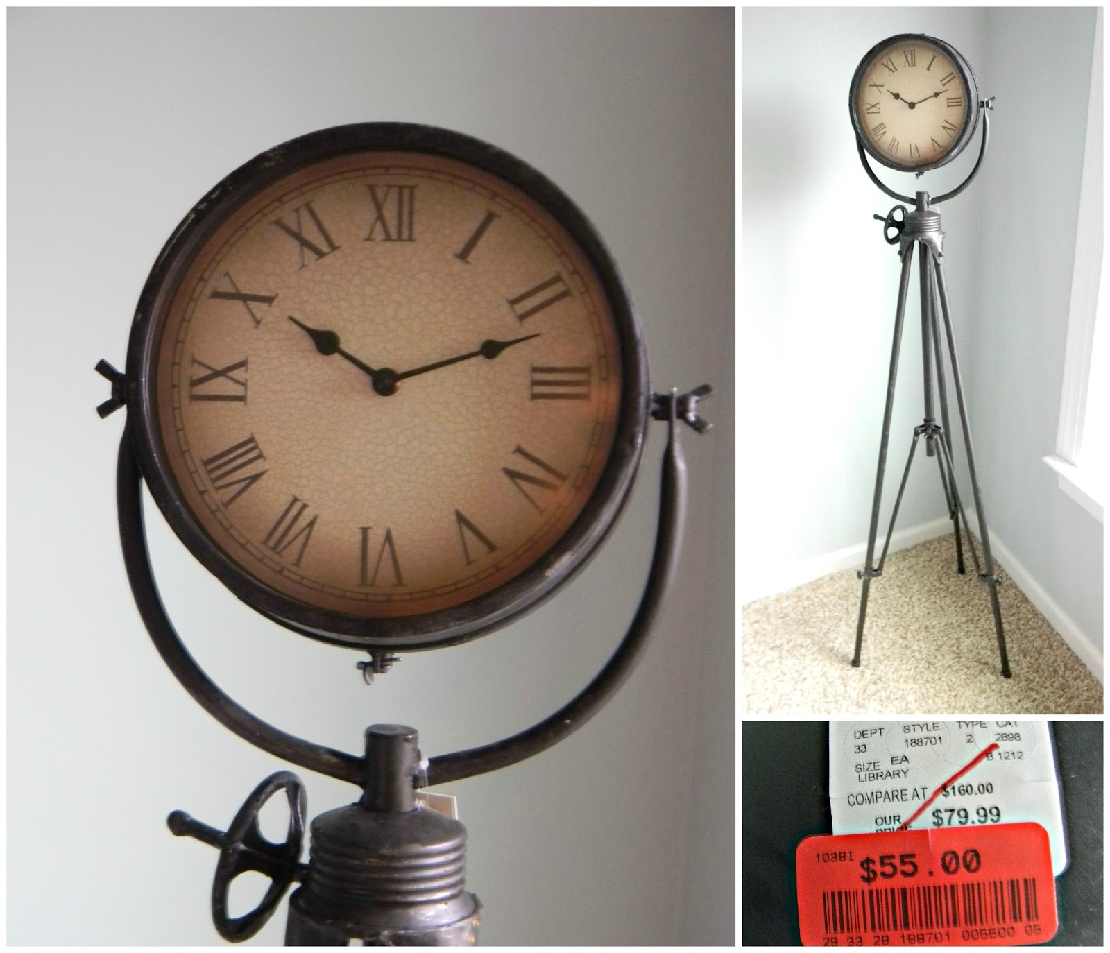 Home Goods Clocks: Seaside Interiors: HomeGoods Happy