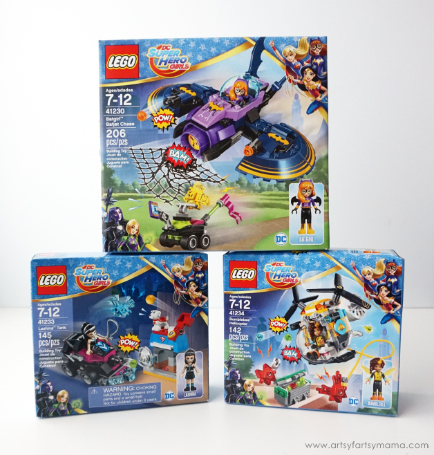 Adventures with LEGO DC Superhero Girls | artsy-fartsy mama