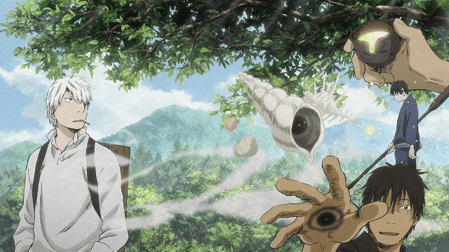 Mushishi adalah anime underrated yang memiliki rating bagus