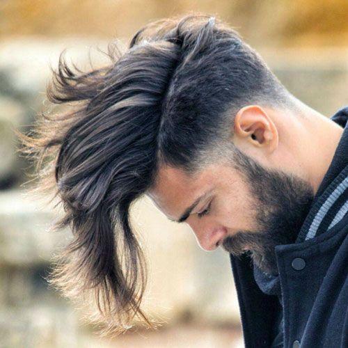 Corte undercut pelo corto