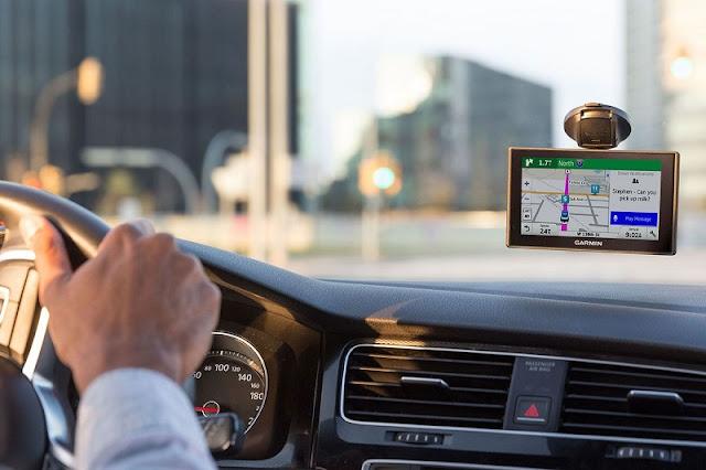 GPS no carro em Miami