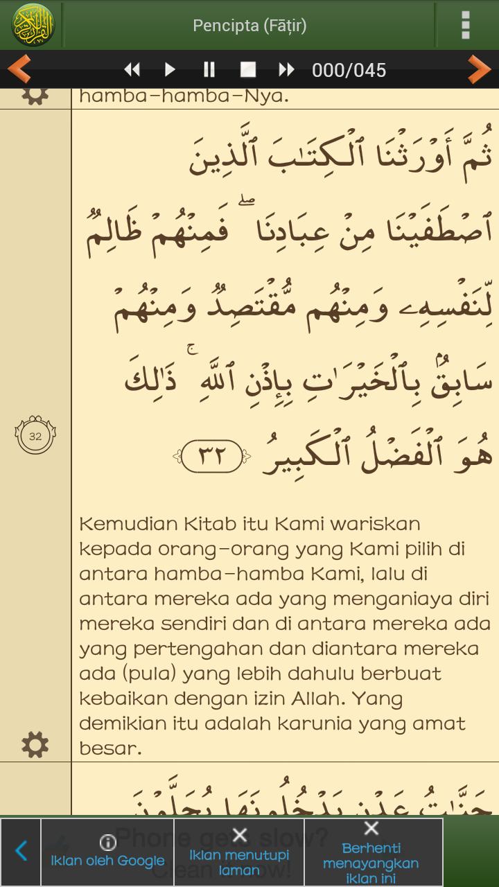 Qs Al Fatir 32 : fatir, SUKRON's, Blog:, November