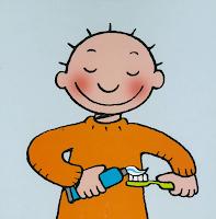 Afbeeldingsresultaat voor jules poetst zijn tanden