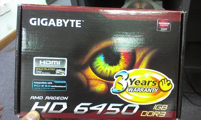 Gigabyte HD 6450