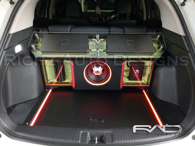 audio 3way system by richz auto designs