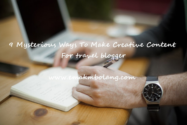 How To Make Creative Content For Travel Blogger
