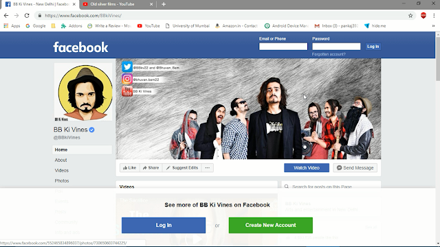 Official Page of Bhuvan Bam