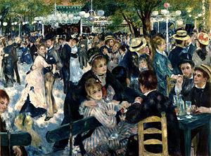 """Bal du moulin de la Galette"", Pierre-Auguste Renoir"