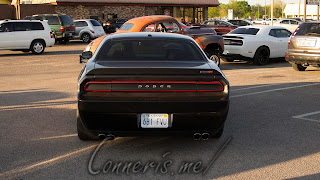 Dodge Challenger Tail Light Blackout
