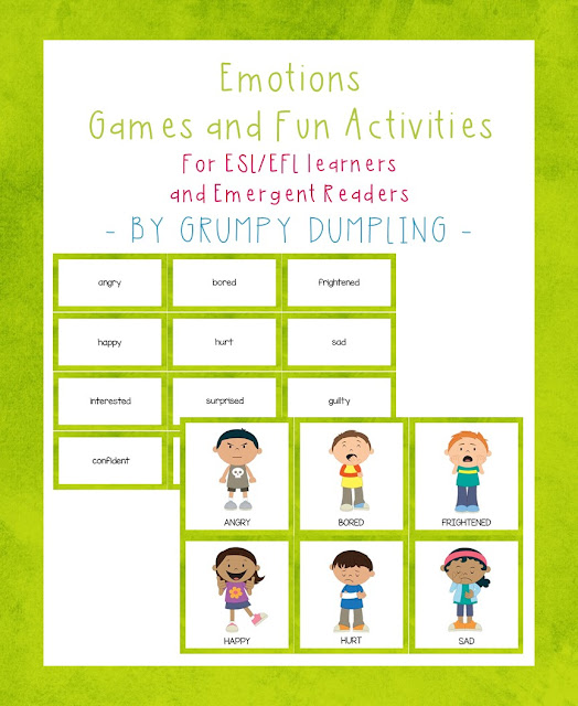 https://www.teacherspayteachers.com/Product/FreebieEmotions-Games-and-Activities-for-ESLEFL-Learners-and-Emergent-Readers-2483726