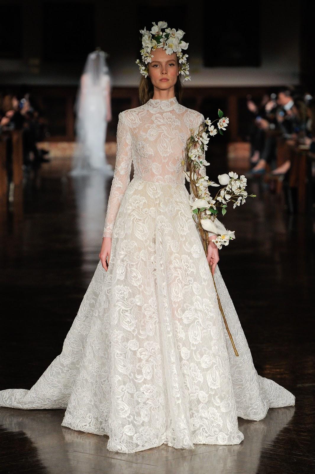 Reem Acra Bridal & Wedding Dress Spring 2019 New York | Cool Chic ...