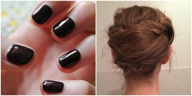 Black Tie/ Evening Gown Outfit of the Night - Geleration & Hair Style