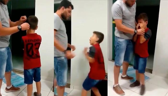 La emocionante reacción de un niño que vuelve ha escuchar